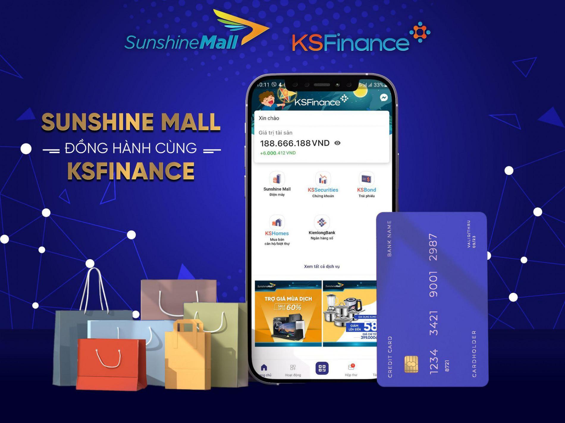 Sunshine Mall chính thức mở bán trên KSFinance App - Ảnh 1.