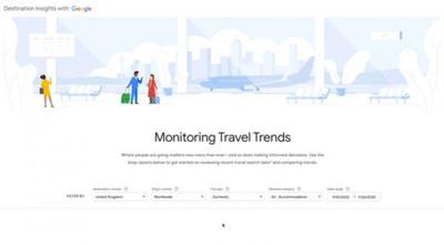 Google ra mắt công cụ giúp hồi phục du lịch hậu COVID-19